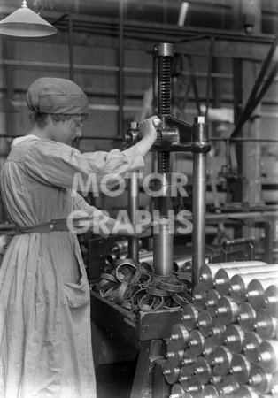 Munitions Woman WWI