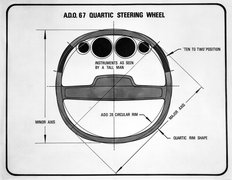 ADO67 Quartic Steering Wheel Allegro 1971