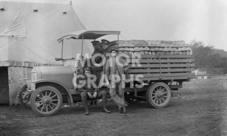 Soldiers With Lorry WWI